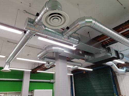 Ventilation & Ductwork ECH